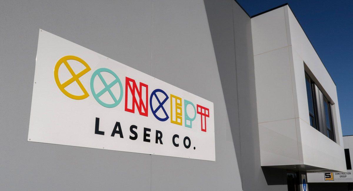 Concept Laser Co - Sign Outside