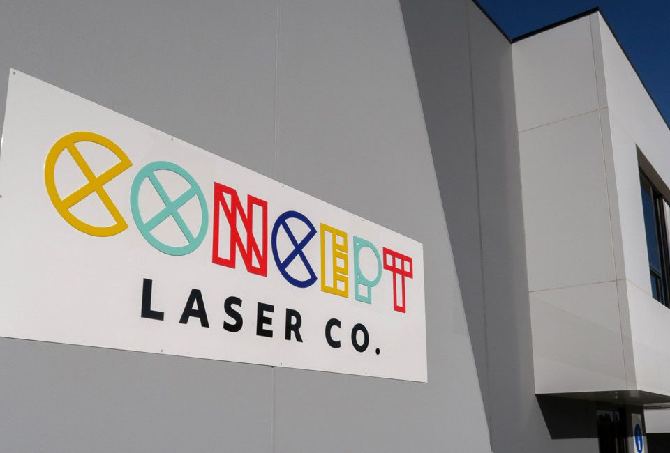 Concept Laser Co - Sign Outside