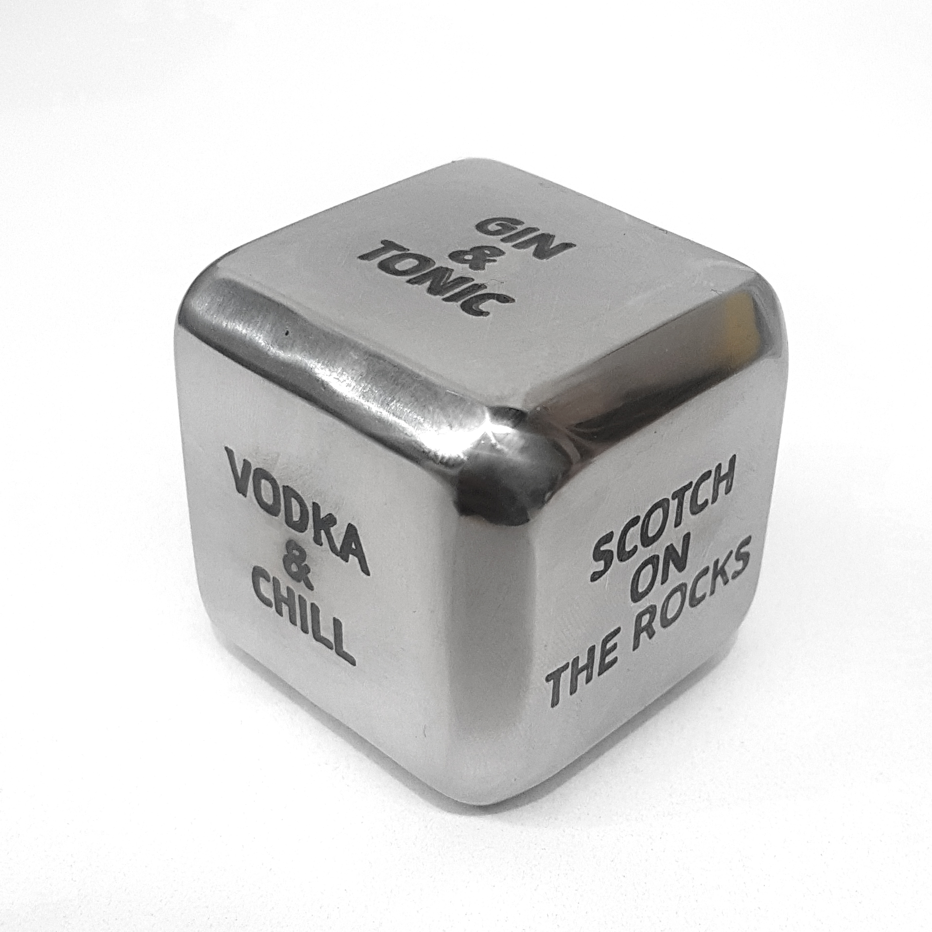 Stainless Steel Dice Annealed
