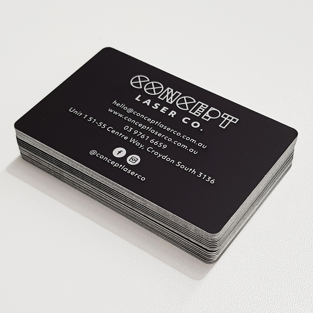 Laser Engraving Business Cards