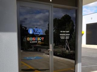 Laser Cut Front Door Sign