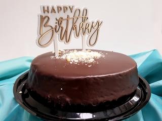 Laser Cut Birthday Cake Topper