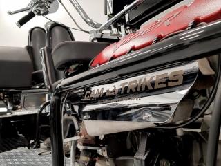 Laser Engraved Logo onto Side Panel for a Trike