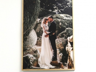 A2 Photo with Plywood Frame