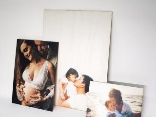 Wooden Borderless Family Photos in A3,A4,A5 Sizes