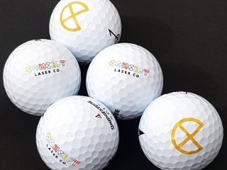 UV Printed Golf Ball - Concept Laser Co