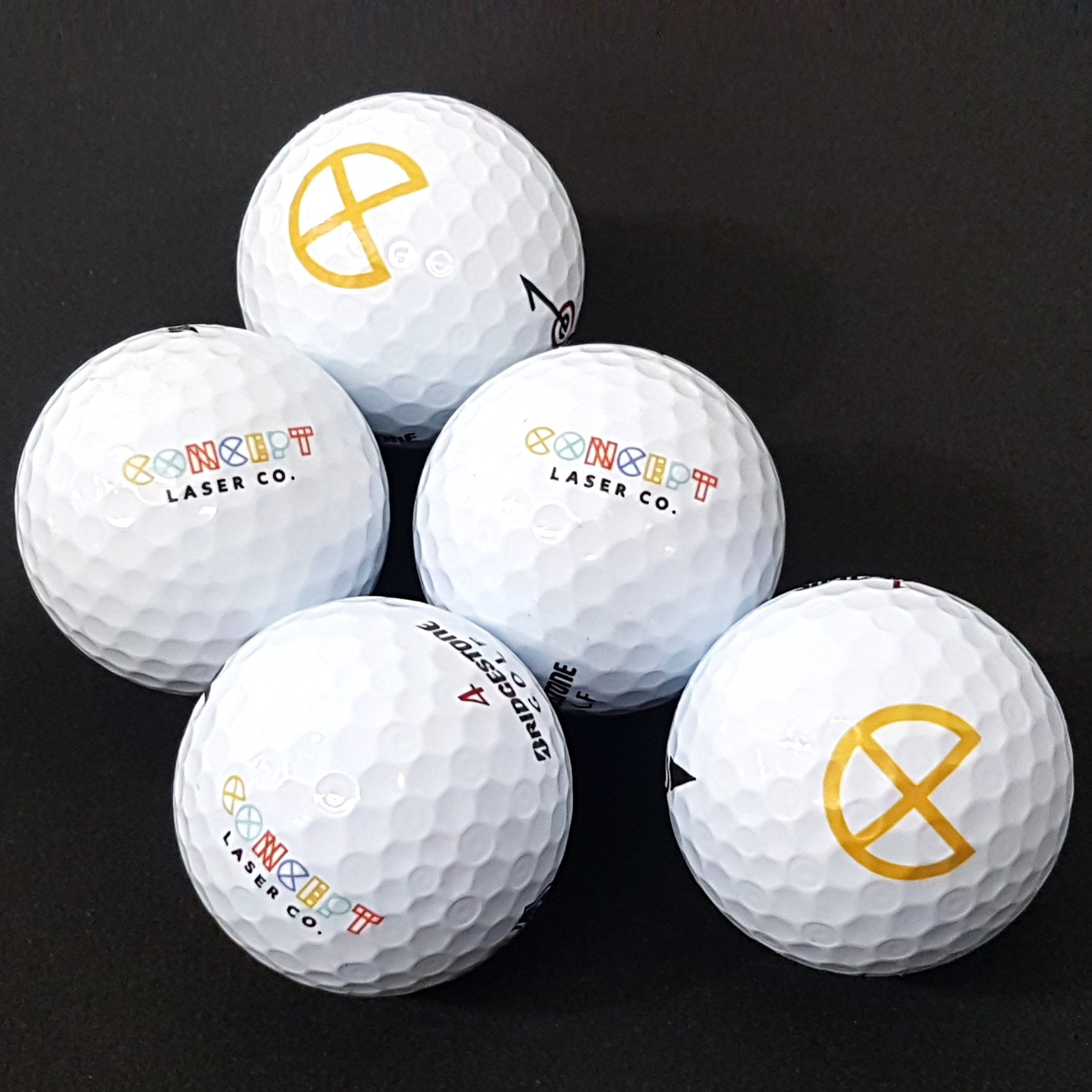 UV Printed Golf Ball - Concept Laser Co