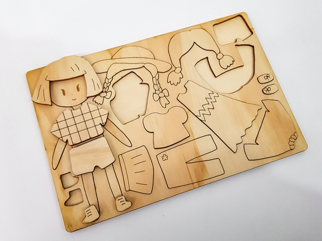Laser Cut wooden toy