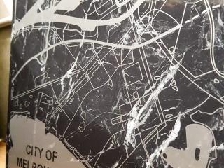 Laser Engraved Marble