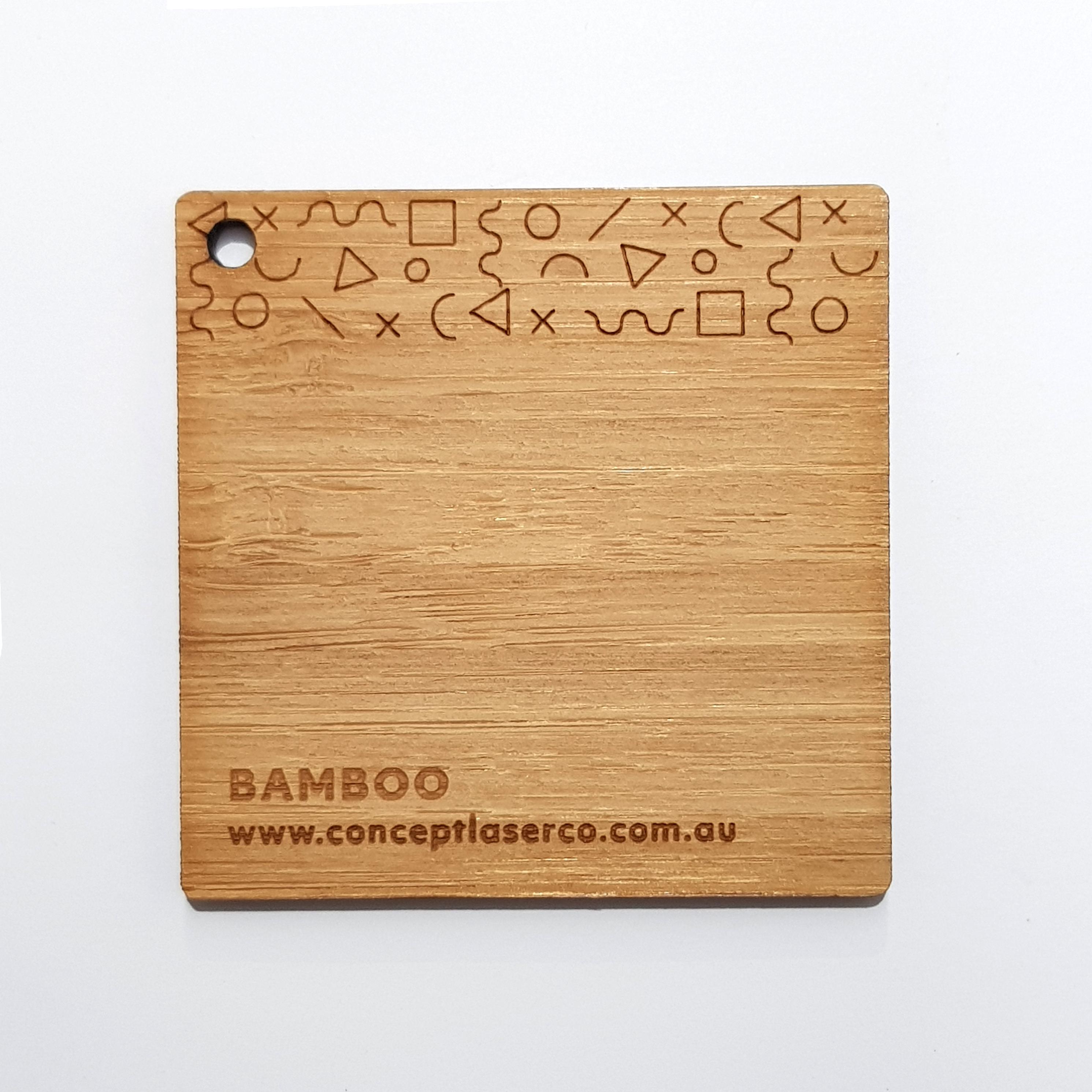 Laser Plywood - Bamboo