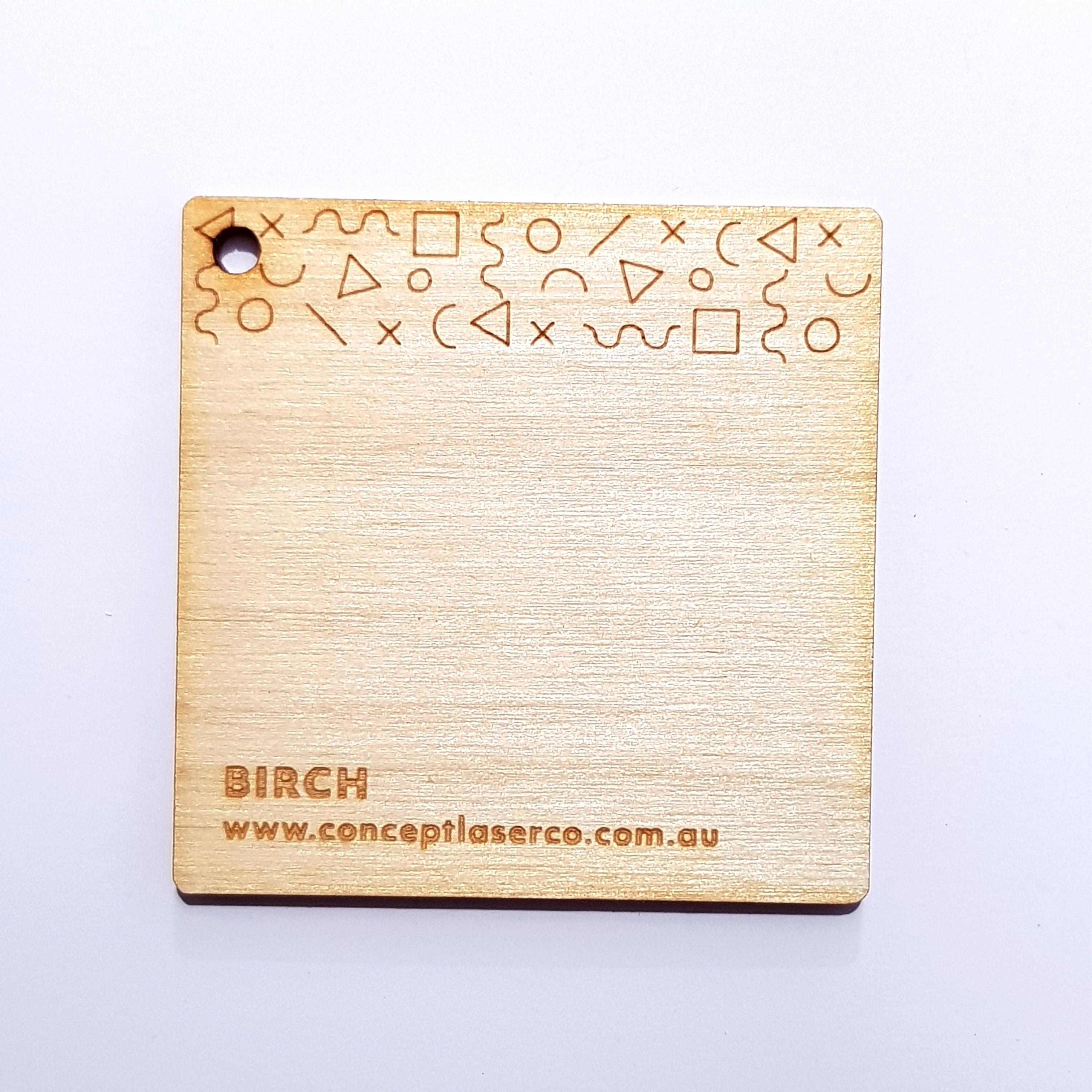 Laser Plywood - Birch