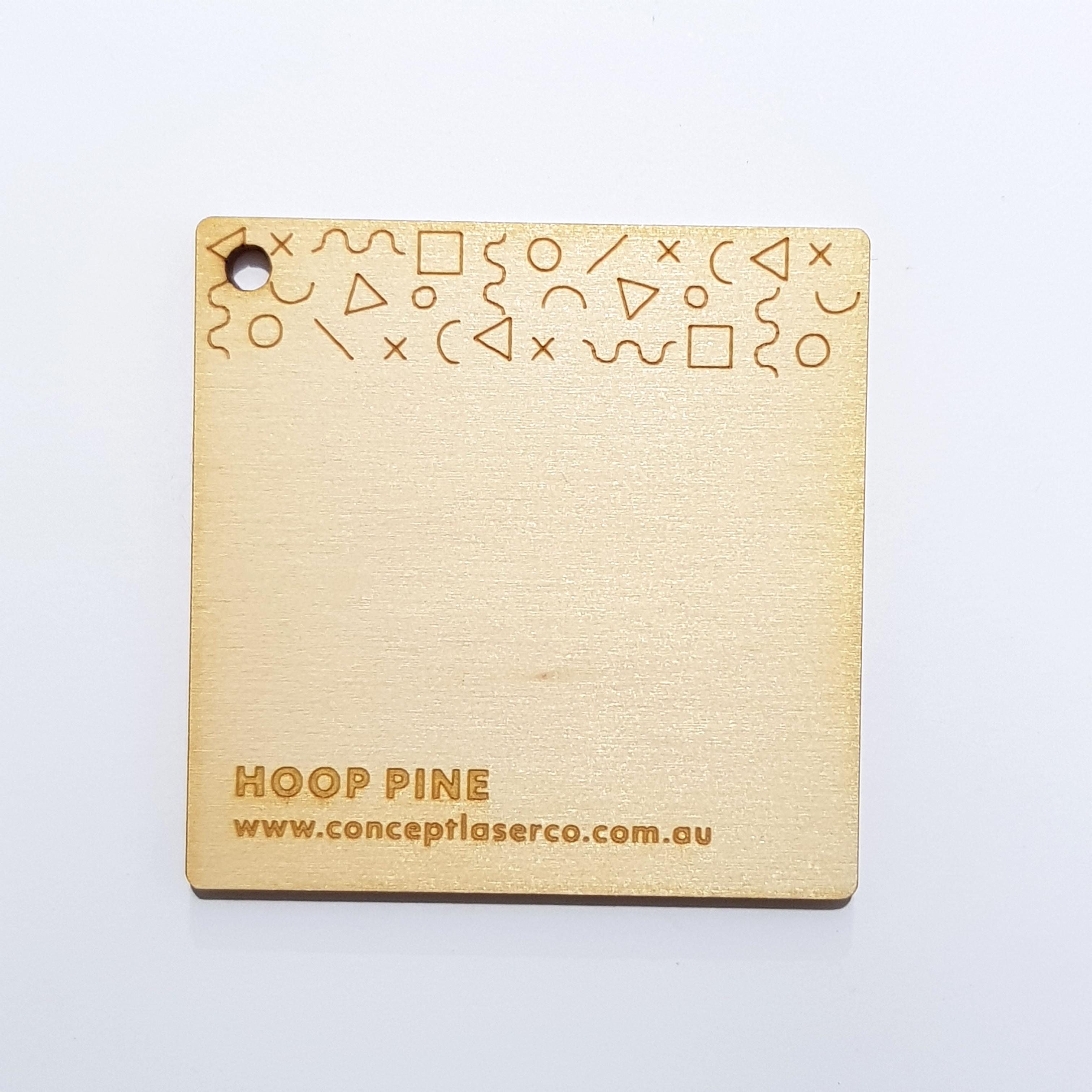 Laser Plywood - Hoop Pine