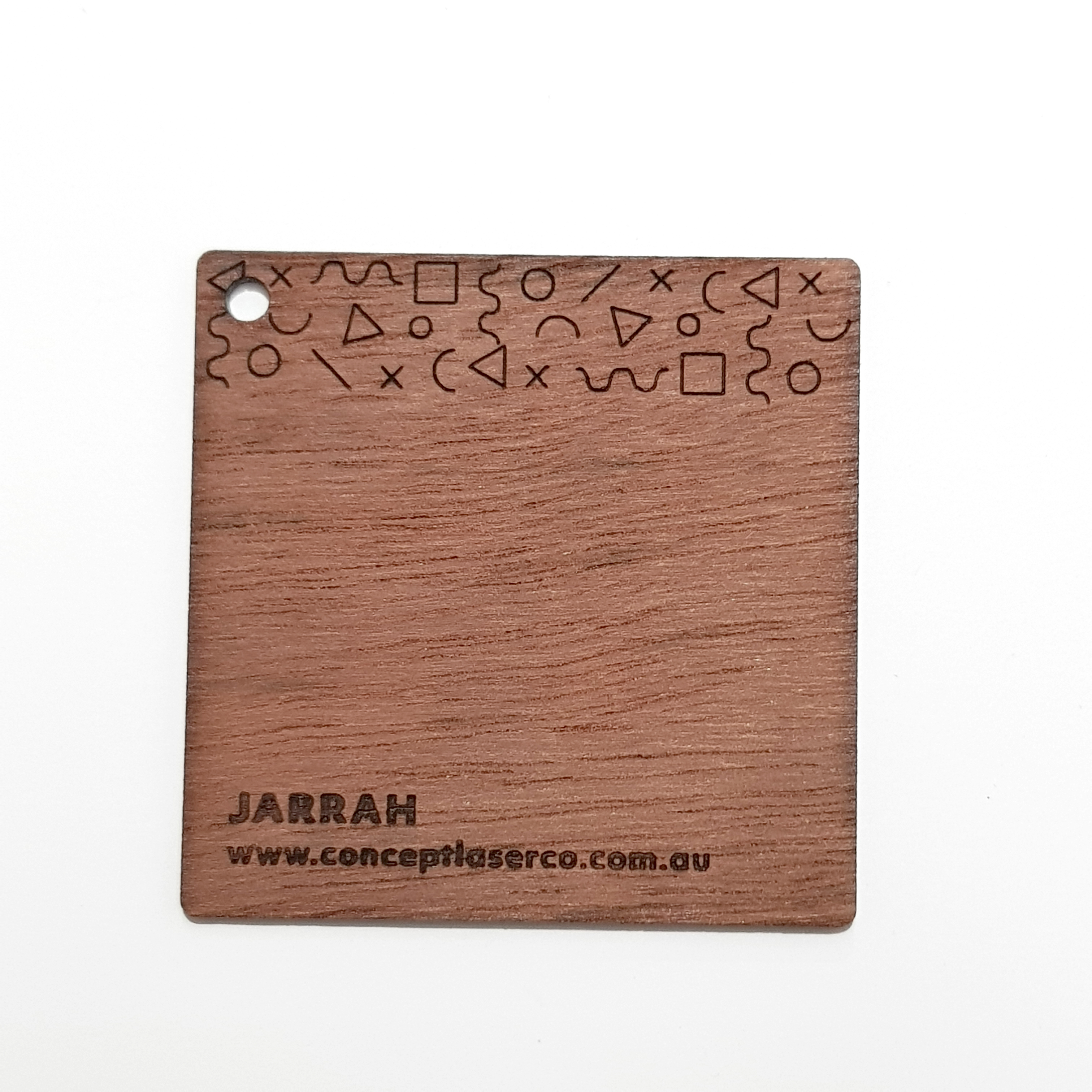 Laser Plywood - Jarrah