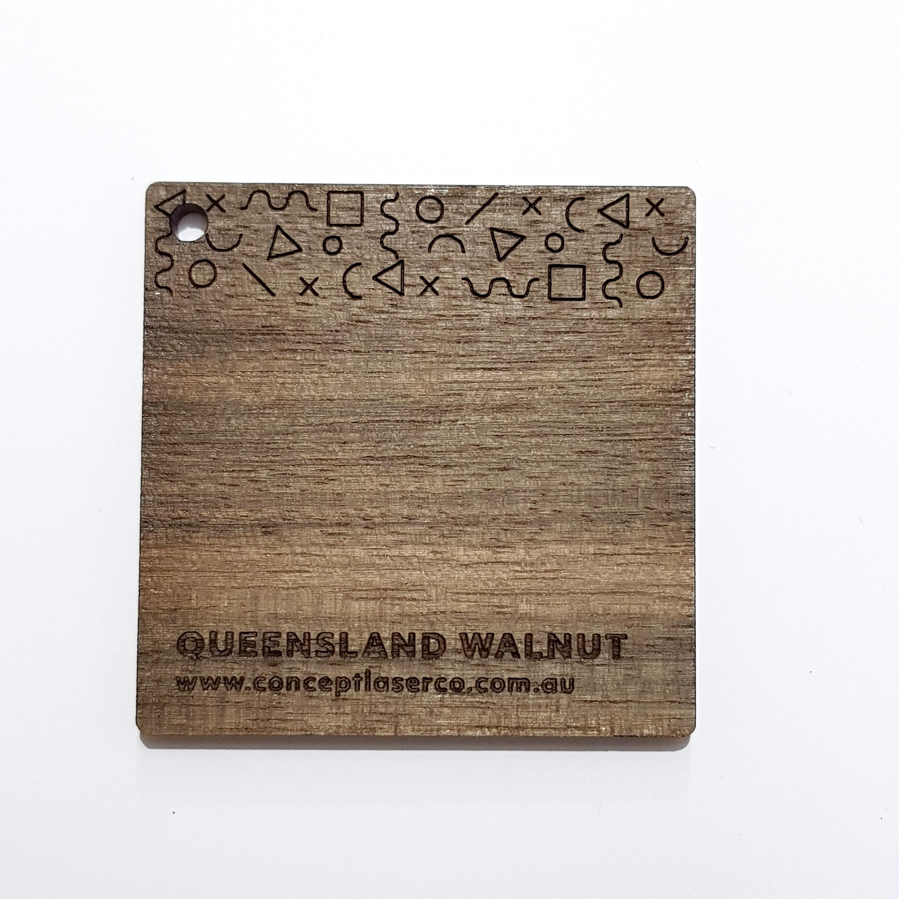 Laser Plywood - Queensland Walnut