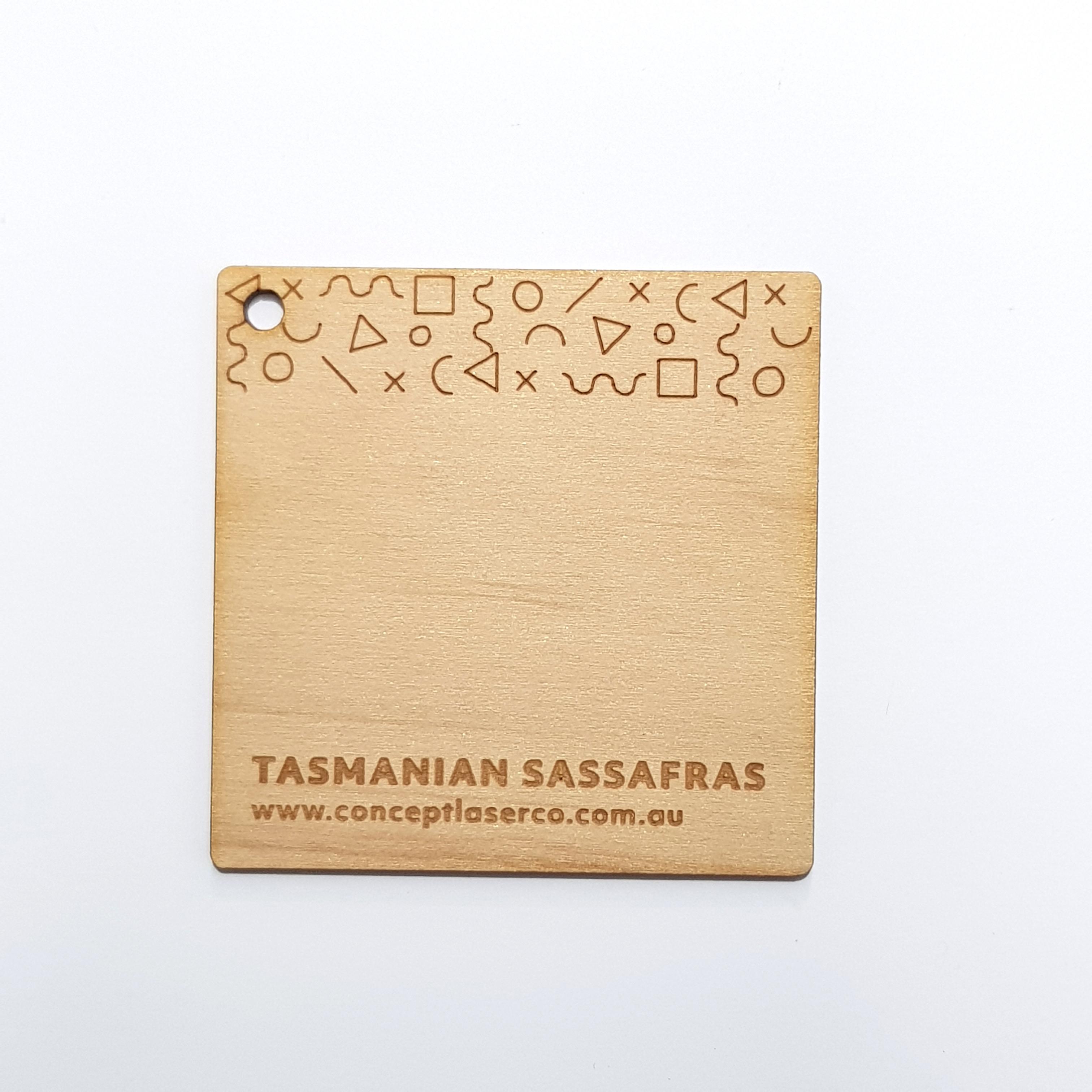 Laser Plywood - Tasmanian Sassafras